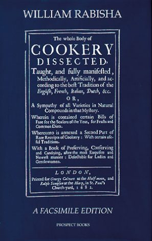 The whole Body of Cookery Dissected (1682)